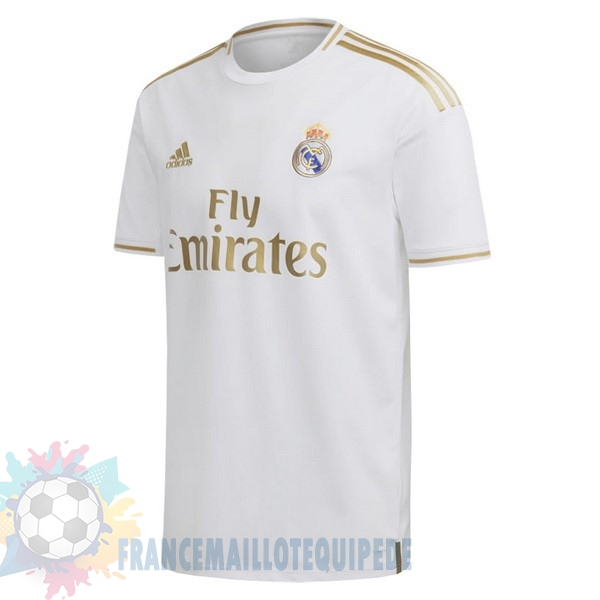 Magasin De Foot adidas Thailande Domicile Maillot Real Madrid 2019 2020 Blanc