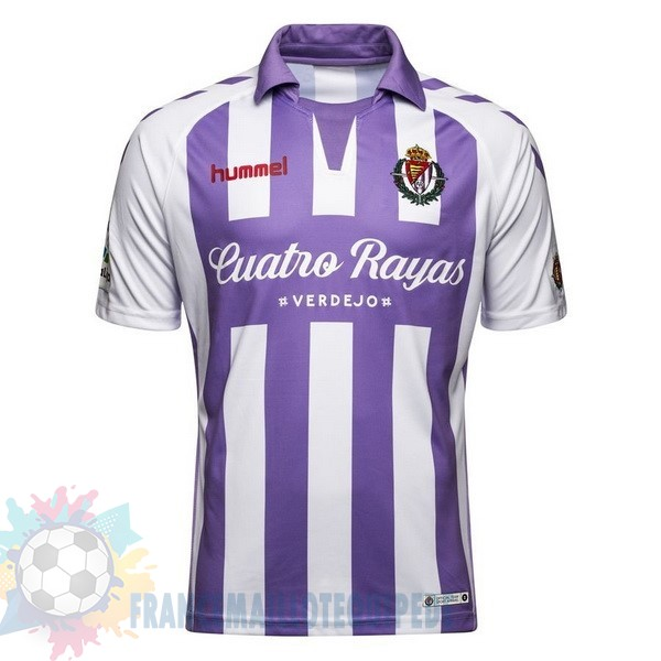 Magasin De Foot Hummel DomiChili Maillot Real Valladolid 2018 2019 Purpura