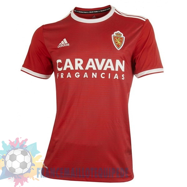 Magasin De Foot adidas Exterieur Maillots Real Zaragoza 18-19 Rouge
