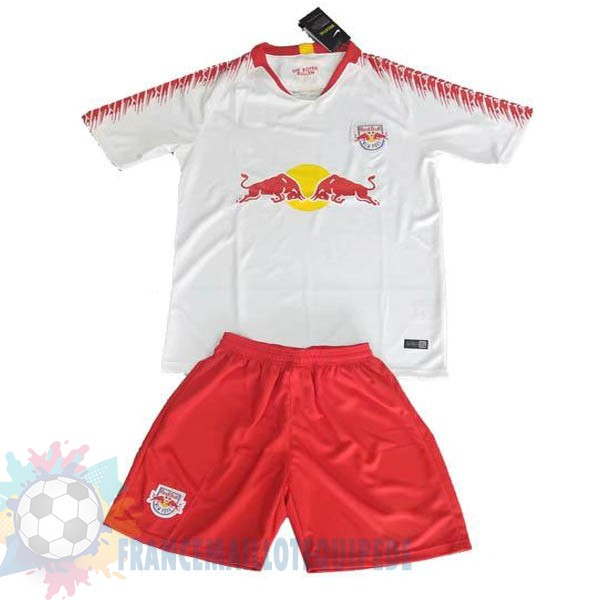 Magasin De Foot Adidas DomiChili Conjunto De Enfant Red Bulls 2019 2020 Blanc