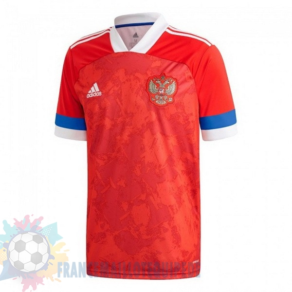 Magasin De Foot adidas Domicile Maillot Russie 2020 Rouge