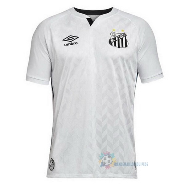 Magasin De Foot umbro Domicile Maillot Santos 2020 2021 Blanc