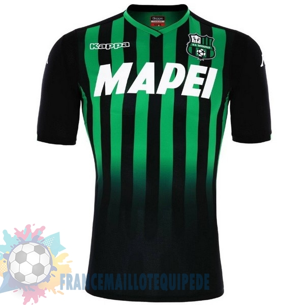 Magasin De Foot Kappa Domicile Maillots Sassuolo 2018-2019 Vert