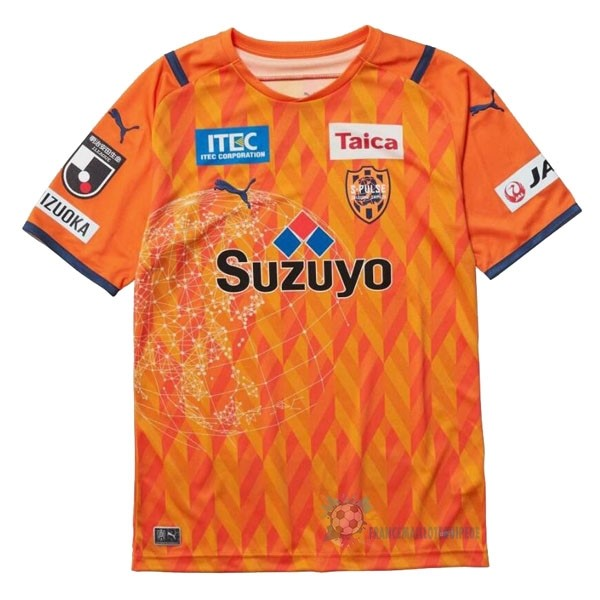 Magasin De Foot PUMA Domicile Maillot Shimizu S Pulse 2021 2022 Orange