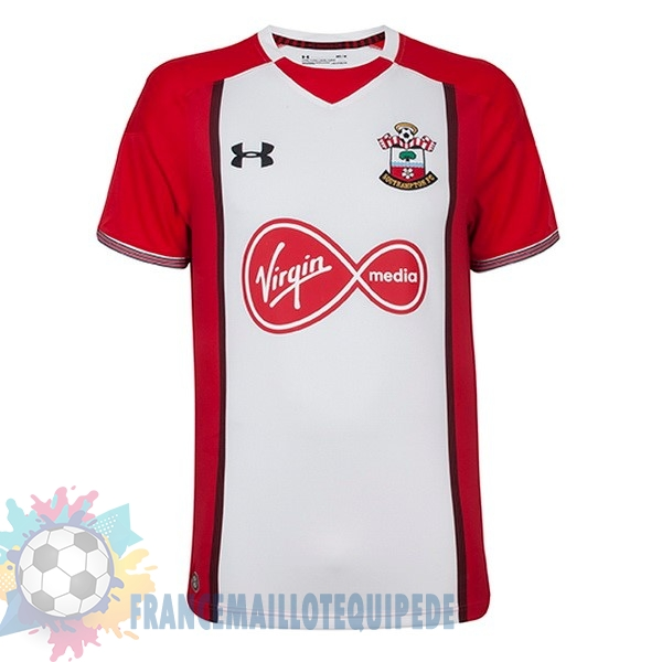 Magasin De Foot Under Armour Domicile Maillots Southampton 2017 2018 Rouge Blanc