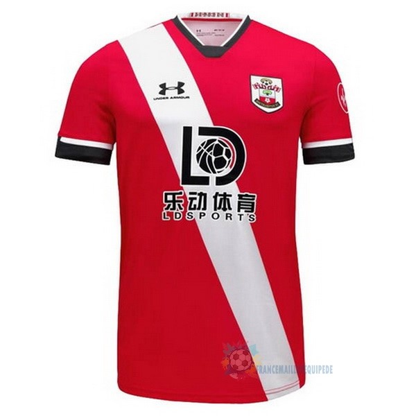 Magasin De Foot Under Armour Domicile Maillot Southampton 2020 2021 Rouge Blanc