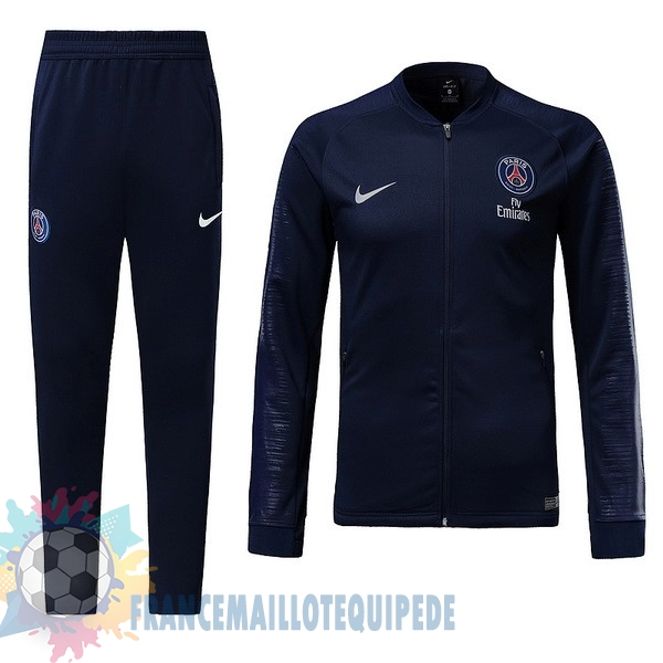 Magasin De Foot Nike Survêtements Paris Saint Germain 2018 2019 Bleu Marine
