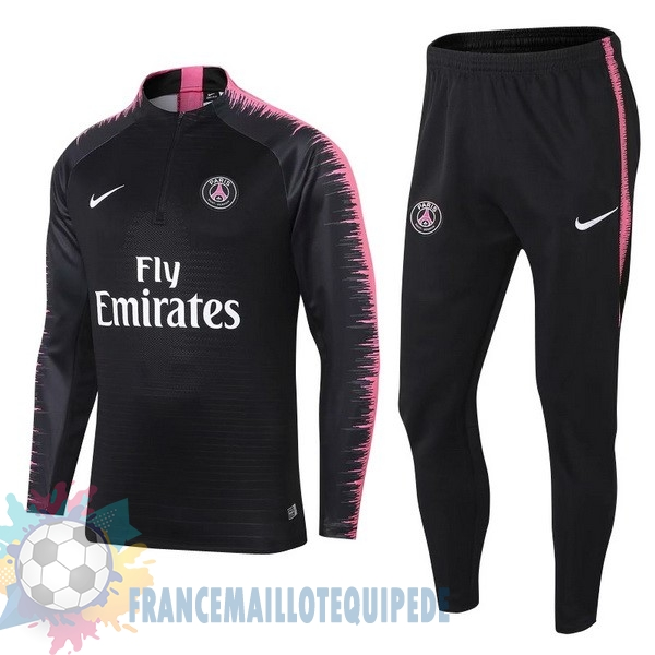 Magasin De Foot Nike Survêtements Paris Saint Germain 2018 2019 Noir Rose