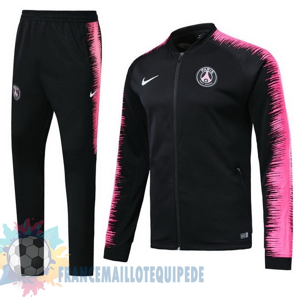 Magasin De Foot Nike Survêtements Paris Saint Germain 2018 2019 Rose Noir