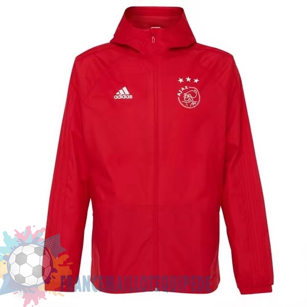 Magasin De Foot adidas Coupe Vent Ajax 2018-2019 Rouge