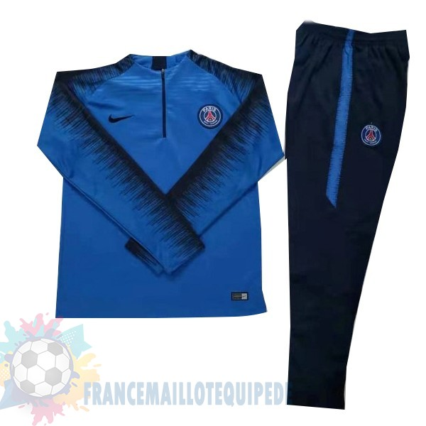 Magasin De Foot Nike Survêtements Paris Saint Germain 2018 2019 Bleu Noir