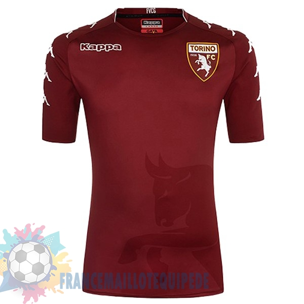 Magasin De Foot Kappa Domicile Maillots Torino 2017 2018 Rouge