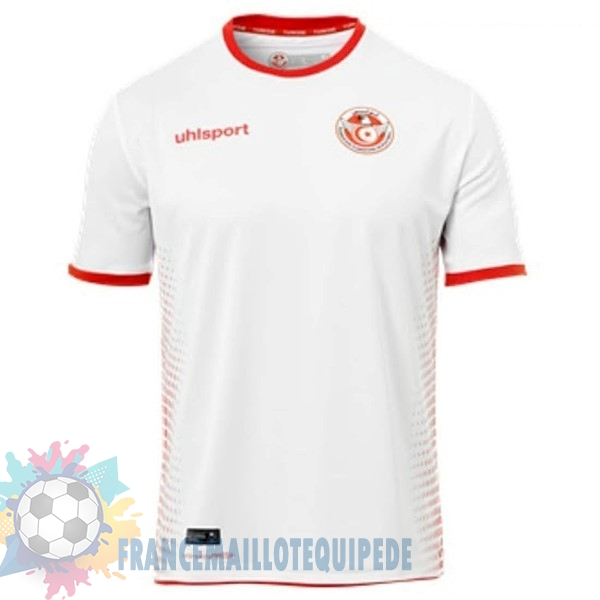 Magasin De Foot adidas Domicile Maillots Tunisie 2018 Blanc