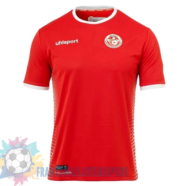 Magasin De Foot adidas Exterieur Maillots Tunisie 2018 Rouge