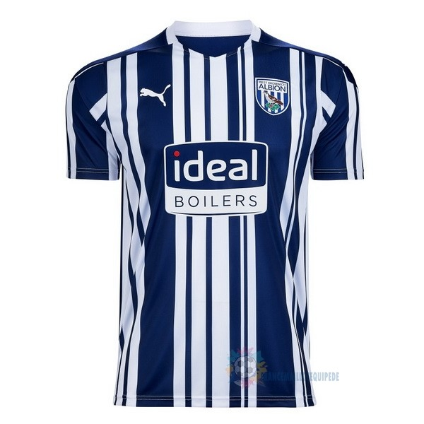 Magasin De Foot PUMA Domicile Maillot West Brom 2020 2021 Bleu