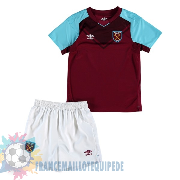 Magasin De Foot umbro Domicile Ensemble Enfant West Ham United 2017 2018 Bordeaux