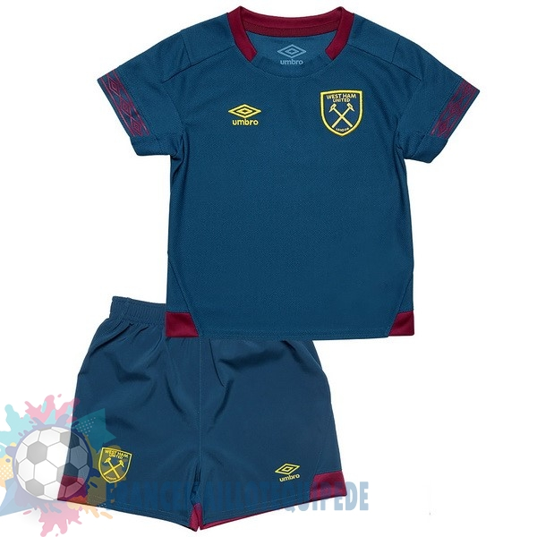 Magasin De Foot umbro Exterieur Ensemble Enfant West Ham United 2018-2019 Bleu