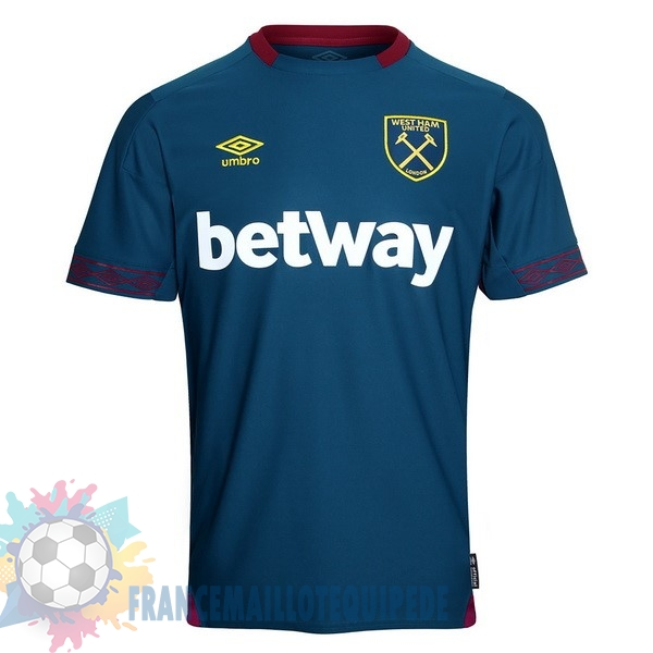 Magasin De Foot umbro Exterieur Maillots West Ham 2018 2019 Bleu