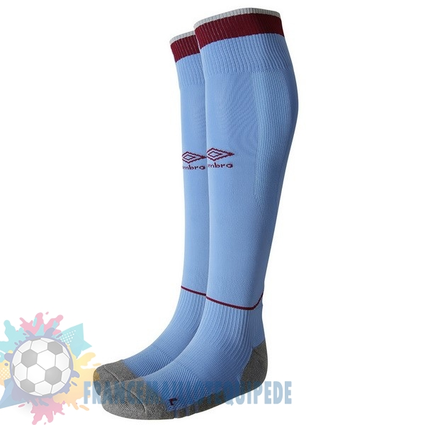 Magasin De Foot umbro Third Chaussettes West Ham United 2018-2019 Bleu