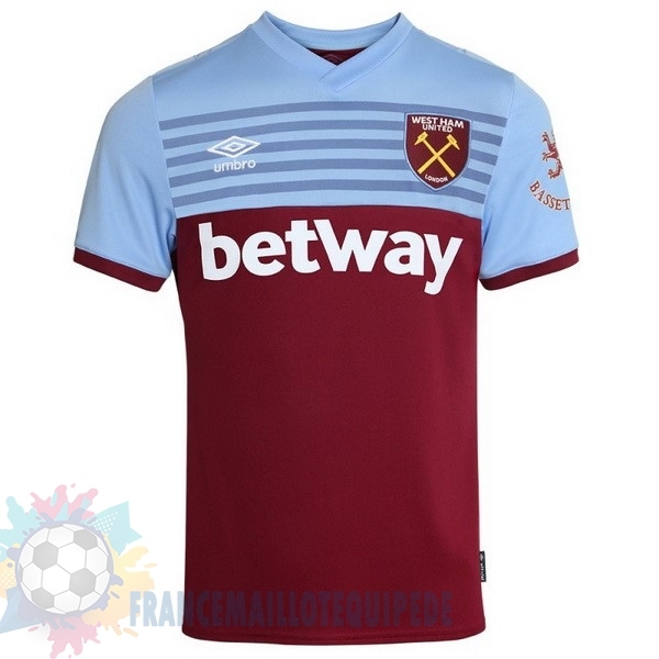 Magasin De Foot umbro Domicile Maillot West Ham 2019 2020 Rouge